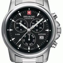 Swiss Military Stahl Quarz 06-5232.04.007 neu