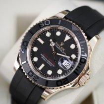 Rolex Yacht-Master 40 tweedehands 40mm Zwart Datum Rubber