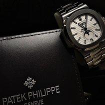 Patek Philippe Nautilus Steel 40.5mm White No numerals