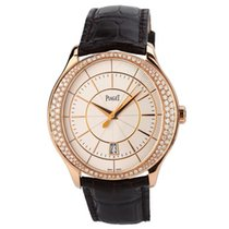 Piaget Rose gold Automatic White No numerals 43mm pre-owned