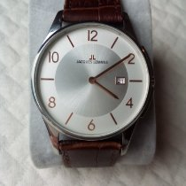 Jacques Lemans Classic London Steel 40mm White Arabic numerals