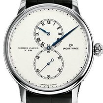 Jaquet-Droz White gold 43mm Automatic J018034202 pre-owned