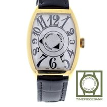 Franck Muller Double Mystery Yellow gold 47mm White Arabic numerals