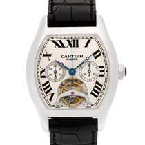 Cartier Tortue Platinum 39mm White Roman numerals United States of America, Florida, Surfside