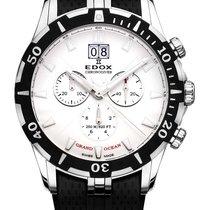 Edox Grand Ocean Steel 42mm Silver
