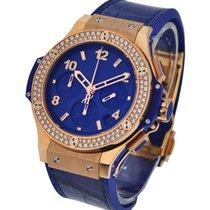Hublot 341.PL.5190.LR.1104 Big Bang Dark Blue Diamonds Gold...