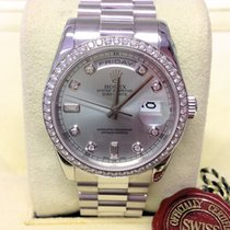 Rolex Day-Date 118346 - Diamond Set - Serviced By Rolex