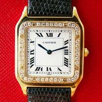 Cartier Santos Dumont Gelbgold 27mm Weiß Römisch Deutschland, Bad Endorf