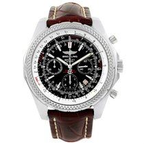Breitling Bentley Motors Chronograph Black Dial Mens Watch A25362