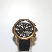 IWC Aquatimer Chronograph Bronze 44mm Schwarz Keine Ziffern
