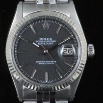 Rolex Datejust 1601 Black Steel Automatic
