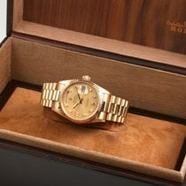 Rolex Day-Date 36 18038 Single-Quickset 1980 pre-owned