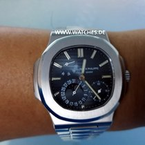 Patek Philippe Moonphase Nautilus Blue Dial Steel - 5712/1A-001