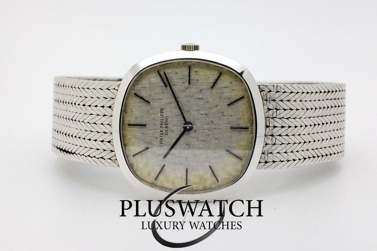 db6a71d5f38 Patek Philippe Golden Ellipse White gold - all prices for Patek Philippe  Golden Ellipse White gold watches on Chrono24