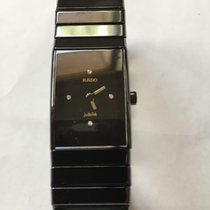Rado 18mm Quartz 2015 pre-owned Ceramica Black