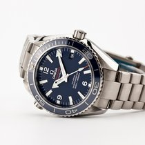 Omega Planet Ocean 42mm Titanium - Blue - Unworn Condition