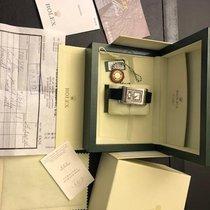 Rolex Cellini Prince Weißgold 28mm Schwarz Arabisch Deutschland, Essen