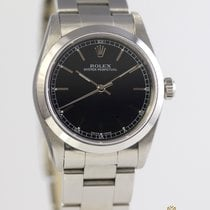 Rolex Acier Remontage automatique Noir Arabes 31mm occasion Oyster Perpetual 31
