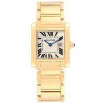 Cartier Tank Française W50014N2 pre-owned