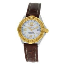 Breitling Starliner Gold/Steel 29mm Mother of pearl Roman numerals United States of America, New York, New York