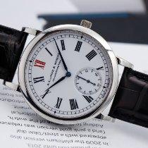 A. Lange & Söhne Platinum White Roman numerals 37mm pre-owned Langematik
