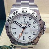 Rolex Explorer II Сталь 42mm Белый Без цифр