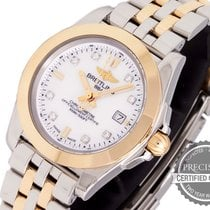 Breitling Galactic 32 Gold/Steel 32mm Mother of pearl No numerals United States of America, Pennsylvania, Willow Grove