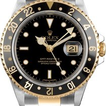 Rolex GMT-Master II Gold/Steel 40mm Black No numerals United States of America, California, Newport beach