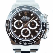 Rolex Daytona Steel 40mm Black No numerals Singapore, Singapore