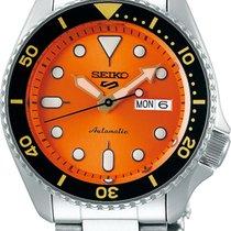 Seiko 5 Sports Сталь 42,5mm Oранжевый