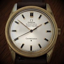 Omega Constellation Gold/Steel 33mm Silver