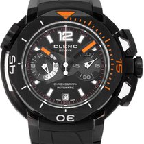 Clerc Hydroscaph L.E. Central Chronograph Steel 44mm