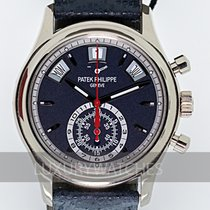 Patek Philippe pre-owned Automatic 40.5mm Blue Sapphire Glass 3 ATM