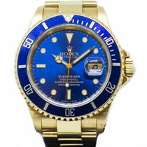 Rolex Submariner Date 16618 Good Yellow gold 40mm Automatic Singapore, Singapore