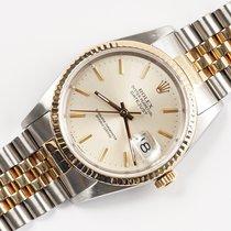 Rolex 16233 Goud/Staal 1989 Datejust 36mm tweedehands Nederland, Opmeer
