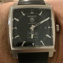 TAG Heuer Monaco Calibre 6 Steel 37mm Black No numerals Australia, Clyde North