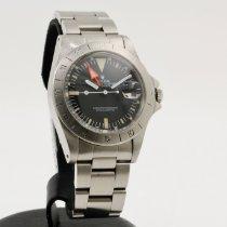 Rolex Explorer II Ocel 40mm Černá Bez čísel