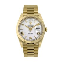 Rolex Day-Date 40 Yellow gold 40mm White Roman numerals United States of America, New York, New York