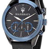 Maserati Steel 45mm Quartz R8871612006 new