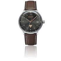 Junkers Steel 36mm Automatic Bauhaus new