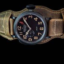 Zenith Pilot Type 20 GMT neu 2019 Automatik Uhr mit Original-Box und Original-Papieren 96.2431.693/21C.740