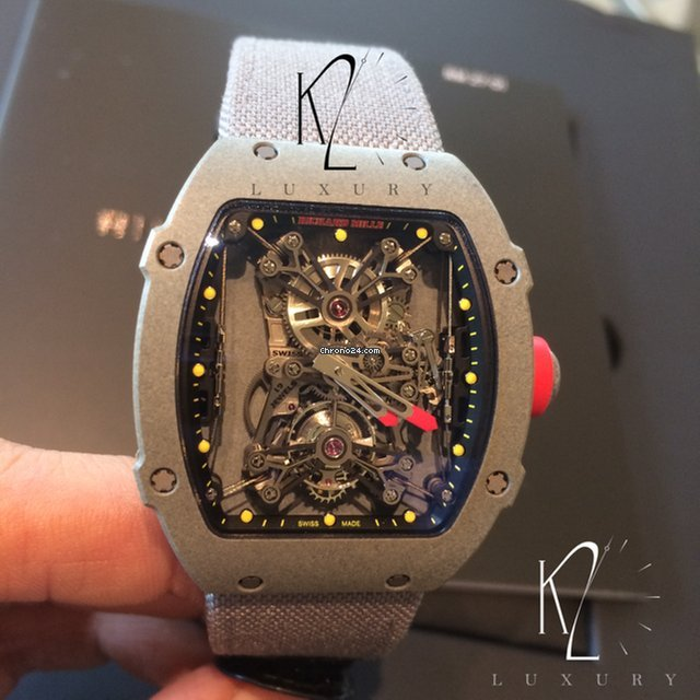 Richard Mille Rm27 01 Tourbillon Rafael Nadal Ltd Edition Of For Price On Request For Sale From A Trusted Seller On Chrono24