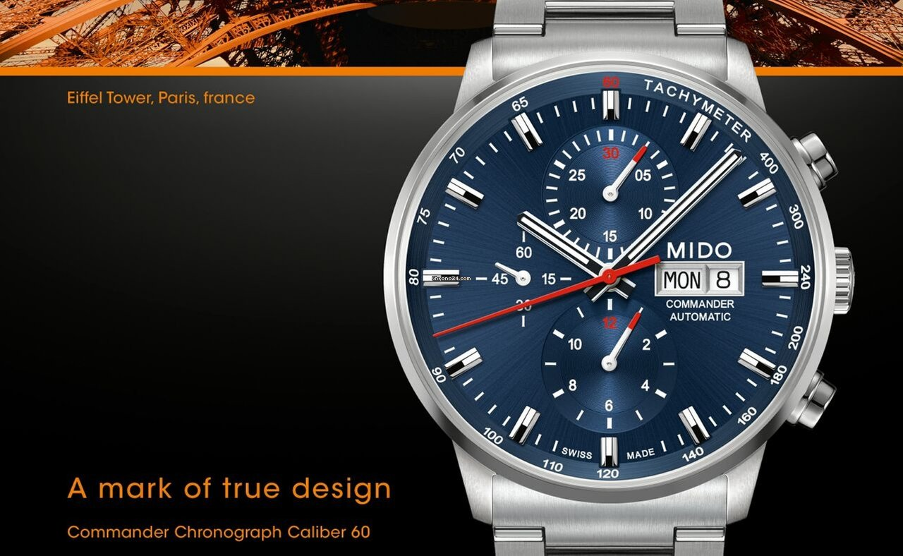 Mido Commander Chronograph Caliber 60 für 1.890 € kaufen ...