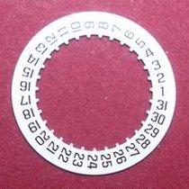 Cartier 87.06 Datumsscheibe, schwarze Schrift auf weißem Grund...