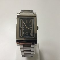 Bulgari Rettangelo Automatic steel  black dial with date