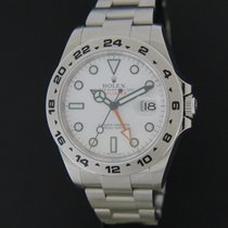 Rolex Oyster Perpetual Date Explorer II White Dial