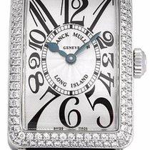 Franck Muller Long Island 18K White Gold & Diamonds Ladies...