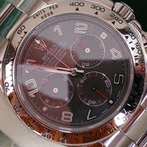 Rolex DAYTONA WEISSGOLD REF 116509 ++SLATE ARAB ++WIE NEU++REV...