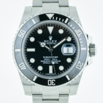 Rolex Submariner, 116610, Stainless Steel, Black Ceramic...