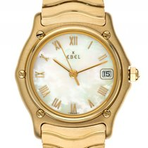 Ebel Sport Classique Lady 18kt Gelbgold Perlmutt Armband...